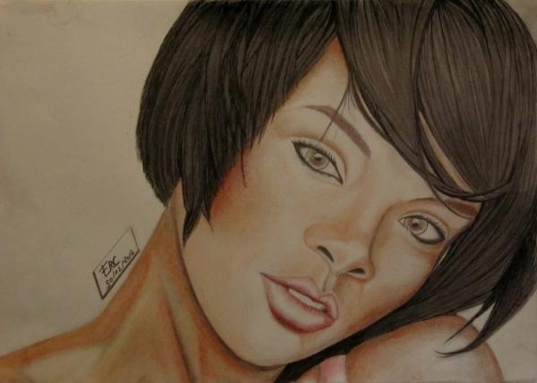 Rihanna by Erc973M